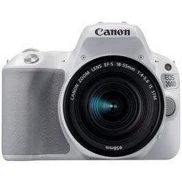 Canon EOS 200D bílý + 18-55mm IS STM