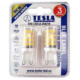 TESLA LED 3W G9 2ks 3000K