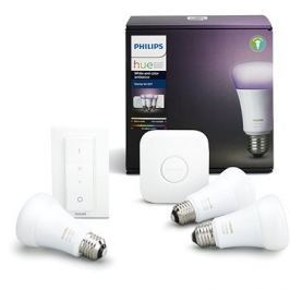 Philips Hue White and Color ambiance 10W E27 starter kit
