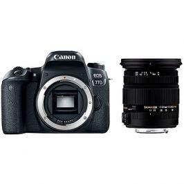 Canon EOS 77D + Sigma 17-50mm