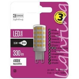 EMOS LED žárovka Classic JC A++ 3,5W G9 neutrální bílá
