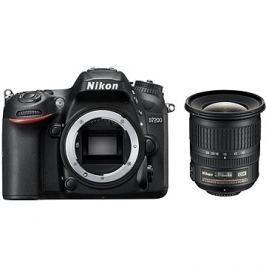 Nikon D7200 černý + 10-24mm F3.5-4.5G AF-S DX