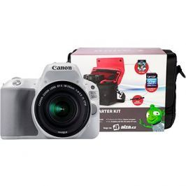 Canon EOS 200D bílý + 18-55mm IS STM + Canon Starter Kit
