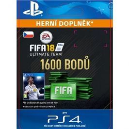 1600 FIFA 18 Points Pack - PS4 CZ Digital