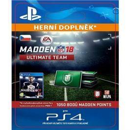 1050 Madden NFL 18 Ultimate Team Points - PS4 CZ Digital