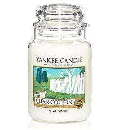 YANKEE CANDLE Classic velký 623 g Clean Cotton