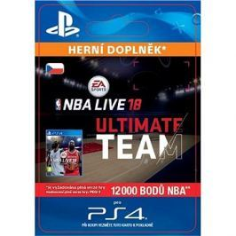NBA Live 18 Ultimate Team - 12000 NBA points - PS4 CZ Digital