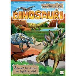Dinosauři Vyrobím si sám: 8 modelů ke složení bez lepidla a nůžek
