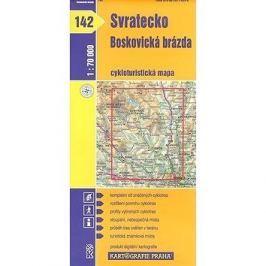 Svratecko, Boskovická brázda: cyklomapa 142