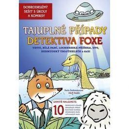 Tajuplné případy detektiva Foxe: Dobrodružný sešit s úkoly a komixy