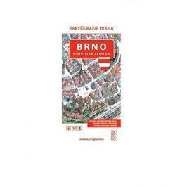 Brno Historické centrum: Kreslený plán města