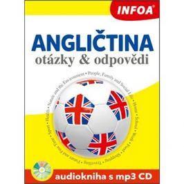 Angličtina otázky a odpovědi Audiokniha s mp3 CD