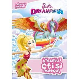 Barbie Dreamtopia Vybarvuj, čti si nalepuj