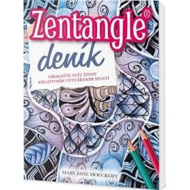 Zentangle deník: Obohaťte svůj život kreativním vytvářením spletí