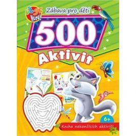 Zábava pro děti 500 aktivit Kočička: Kniha nekončících aktivit