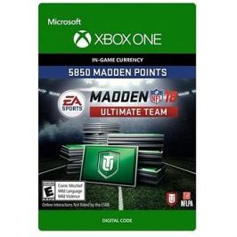 Madden NFL 18: MUT 5850 Madden Points Pack - Xbox One Digital