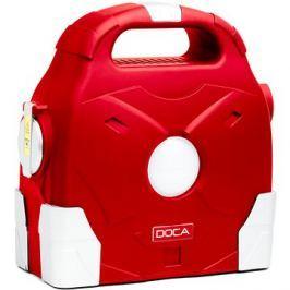 DOCA Powerbank 95000mAh červená