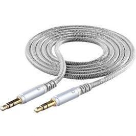 Cellularline Unique Design audio cable pro iPhone stříbrný