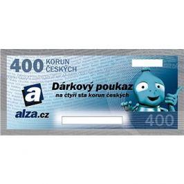 Elektronický dárkový poukaz Alza.cz na nákup zboží v hodnotě 400 Kč