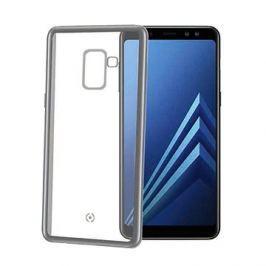 CELLY Laser pro Samsung Galaxy A8 Plus (2018) stříbrné