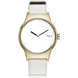 TCL MOVETIME Smartwatch Leather Gold/White