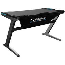 Sandberg Fighter Gaming Desk černo/šedá