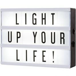 Smartwares LED svítidlo A5 vč. 85 znaků 10.043.66