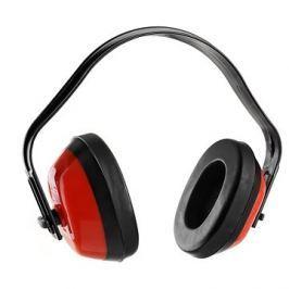 CXS Mušlové chrániče sluchu EP101, červené