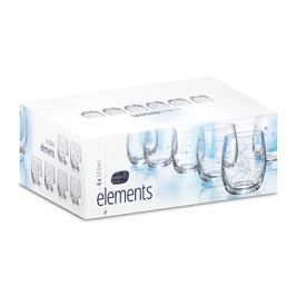 CRYSTALEX Sklenice na vodu/whisky 300ml 6ks ELEMENTS