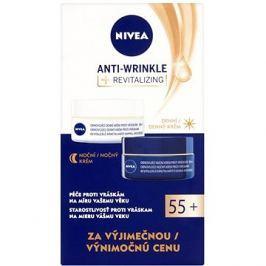 NIVEA Care Anti-Wrinkle Revitalizing 55+ Sada denního 50 ml a nočního krému 50 ml