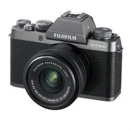 Fujifilm X-T100 stříbrný + XC 15-45mm f/3.5-5.6 OIS PZ