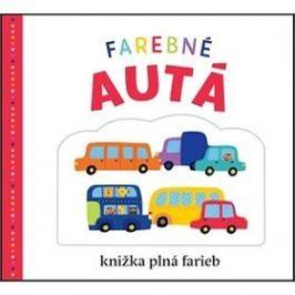 Farebné autá: kniha plná farieb
