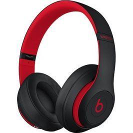 Beats Studio3 Wireless - vyvzdorovaná černo-červená