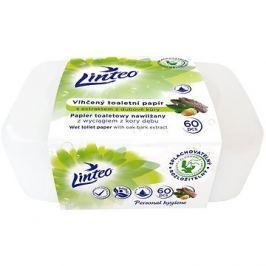 LINTEO  Vlhčený toaletní papír s dubovou kúrou v boxu  (60 ks)