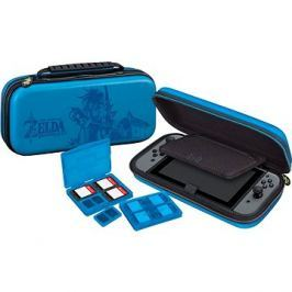 BigBen Official travel case Zelda modrý - Nintendo Switch