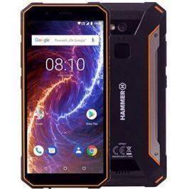 MyPhone Hammer Energy LTE 18x9 oranžová