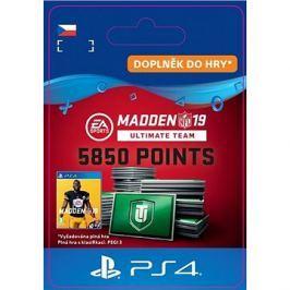 Madden NFL 19 Ultimate Team 5850 Points Pack - PS4 CZ Digital