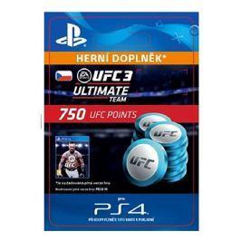 EA SPORTS UFC 3 - 750 UFC POINTS - PS4 CZ Digital