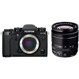 Fujifilm X-T3 černý + XF 18-55 mm R LM OIS
