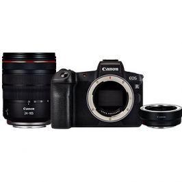 Canon EOS R + RF 24-105 mm L USM + EF-EOS R adaptér