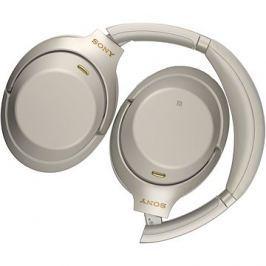 Sony Hi-Res WH-1000XM3, platinově stříbrná