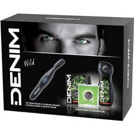 DENIM Wild kazeta + zastřihávač vousů
