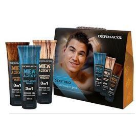 DERMACOL Men Agent Mix sprchových gelů