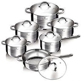 Blaumann Sada nádobí nerez 12ks Gourmet Line BL-1410