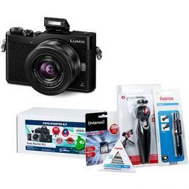 Panasonic LUMIX DMC-GX800 černý + objektiv 12-32mm + Alza Foto Starter Kit 32GB