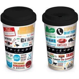 Přátelé - cestovní hrnek