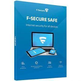 F-Secure SAFE DR pro 5 zařízení na 2 roky + Data Recovery pro 1 zařízení na 2 roky (elektronická lic