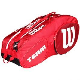 Wilson Team III 6 Pack Red White
