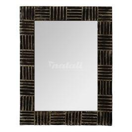 Autronic Dekorace Zrcadlo v dřevěném rámu - 60x80 cm