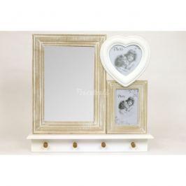 Autronic Dekorace Set fotorámečků se zrcadlem